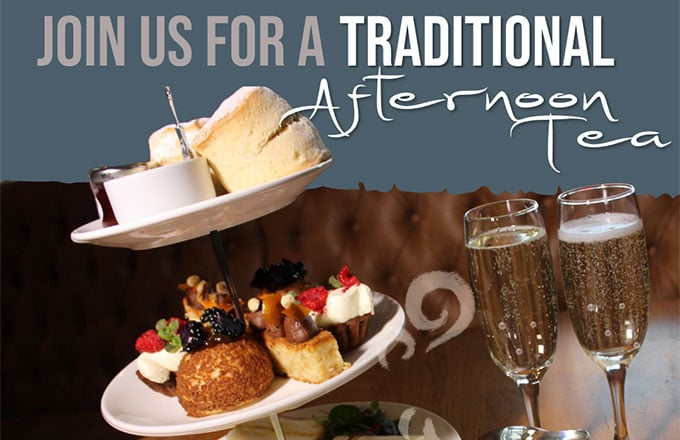 Afternoon tea small banner
