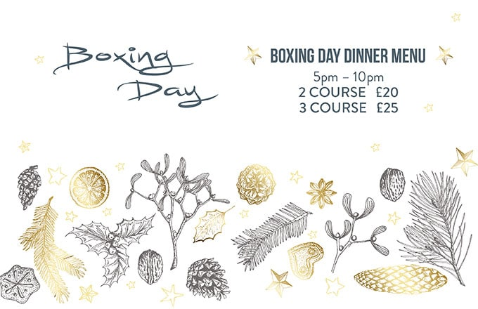 Boxing Day offer graphic
